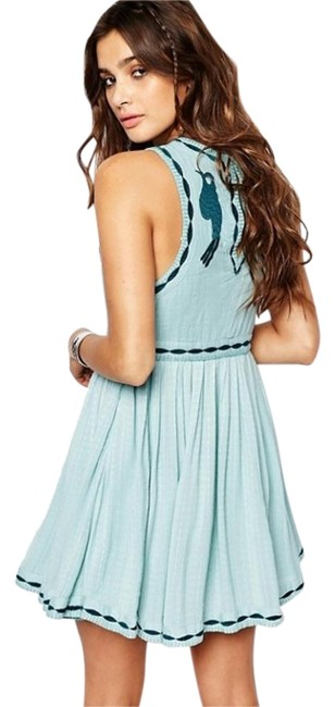 Preload https://img-static.tradesy.com/item/20299872/free-people-sea-foam-blue-birds-of-a-feather-above-knee-short-casual-dress-size-8-m-0-1-650-650.jpg
