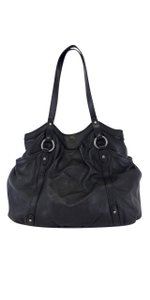 Ralph Lauren Black Leather Shoulder Bag