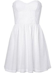 Juicy Couture short dress White Eyelet Summer on Tradesy