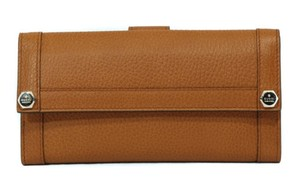 Gucci Gucci 231839 Leather Continental Wallet Brown
