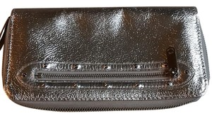 Louis Vuitton gun metal zip around wallet