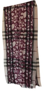 Burberry Painted Hearth Scarf