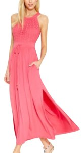 Coral Maxi Dress by Calvin Klein