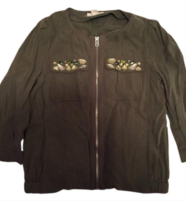 Preload https://item4.tradesy.com/images/h-and-m-olive-jacket-2030028-0-0.jpg?width=400&height=650