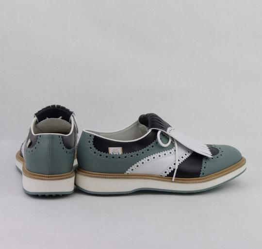 Gucci Multi-color Men's Leather Brogue Fringed Oxford Golf 5.5/ Us 6 368438 Shoes Image 4