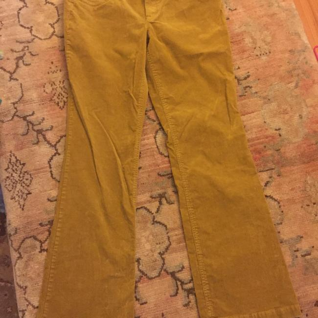 J.Crew Straight Pants Mustard Gold/Brown Image 3