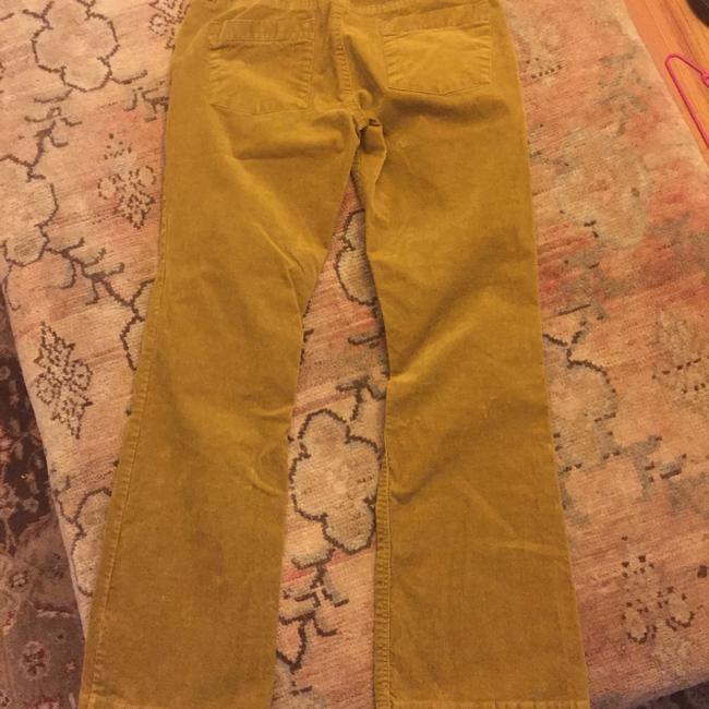 J.Crew Straight Pants Mustard Gold/Brown Image 4