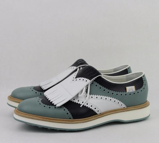 Gucci Multi-color Men's Leather Brogue Fringed Oxford Golf 9.5/ Us 10 368438 Shoes Image 1