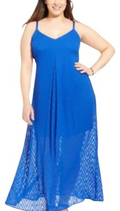 Blue Maxi Dress by Calvin Klein