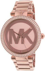 Michael Kors Michael Kors Women's Parker MK5865 Rose Gold Stainless Watch