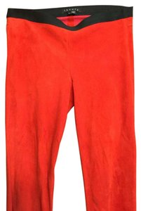 Theory Red Leggings