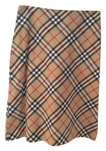 Burberry London Classic Burberry Skirt Traditional