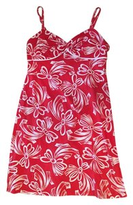 Tommy Bahama short dress Red with White Like New Holiday Colors Very Feminine on Tradesy