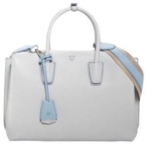 MCM Tote in grey whisper