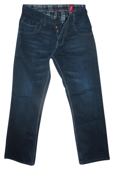 Preload https://img-static.tradesy.com/item/20300978/urban-outfitters-dark-blue-whiskered-coated-petroleum-relaxed-fit-jeans-size-30-6-m-0-1-650-650.jpg