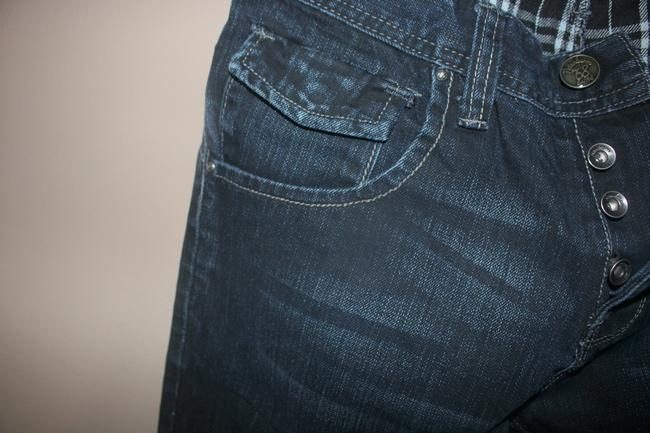 Urban Outfitters Utility Denim Mens Relaxed Fit Jeans-Coated Image 3