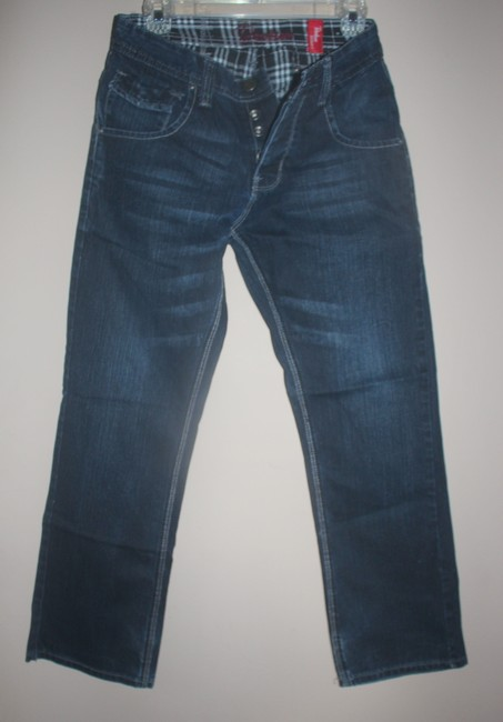 Urban Outfitters Utility Denim Mens Relaxed Fit Jeans-Coated Image 4