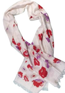 Coach Coach signature silk and wool scarf with flowers