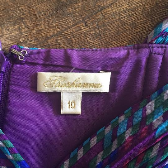 best Shoshanna Purple, Blue, Pink, Red N/a Dress - 76% Off Retail