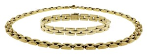 Cartier Cartier 18k Gold Panthere Link necklace & Bracelet set