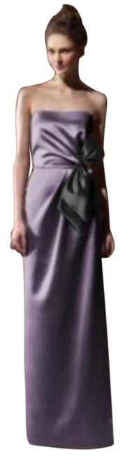 Dessy Lavender 8106 Long Formal Dress Size 10 (M) Dessy Lavender 8106 Long Formal Dress Size 10 (M) Image 1