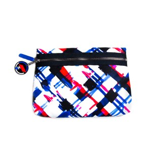 Chanel New Airline Red Blue Cosmetic Case Multi Clutch