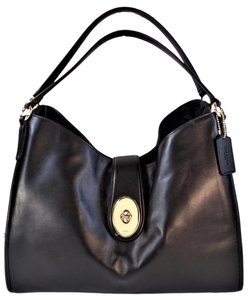 Coach Carlyle Smooth Leather F37637 Shoulder Bag