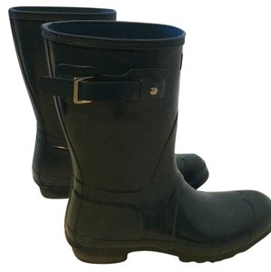 Hunter Dusty Petrol Boots