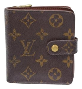 Louis Vuitton Louis Vuitton Wallet Brown Monogram 10279
