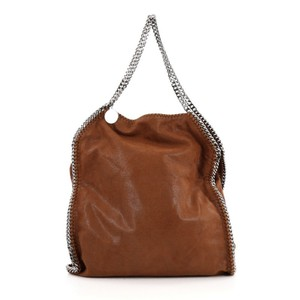 Stella McCartney Shaggydeer Tote in Dark Brown