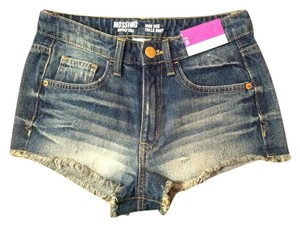 Mossimo Supply Co. High Rise Denim Shorts-Distressed