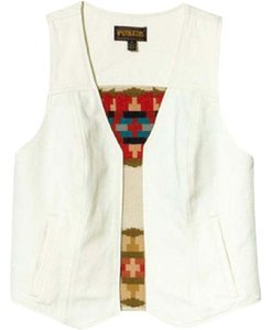 Pendleton Hippie 70s Retro Wool Festival Fashion Vest