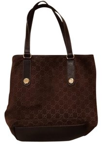 Gucci Tote in Chocolate Brown
