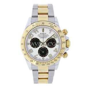 Rolex Rolex Cosmograph Daytona Steel & Yellow Gold Watch Panda Dial