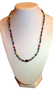 Craft show purchase Summer beaded necklace