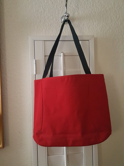 Victorinox Tote in Red Image 3