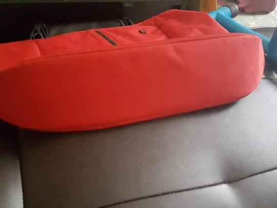 Victorinox Tote in Red Image 4