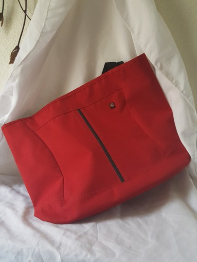 Victorinox Tote in Red Image 7