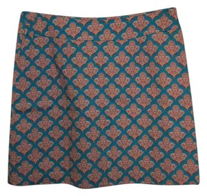 Skirtin Around Skirt Turquoise, Coral