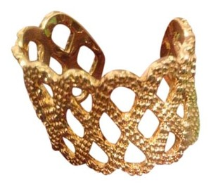 Lilly Pulitzer Lilly Pulitzer Gold Lattice Cuff Bracelet