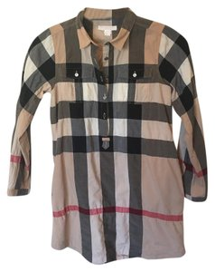 Burberry short dress Burberry Classic Print Shirt on Tradesy