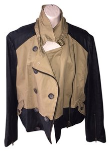 Bar III Black And Khaki Jacket