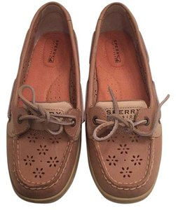 Sperry tan boat shoes Athletic