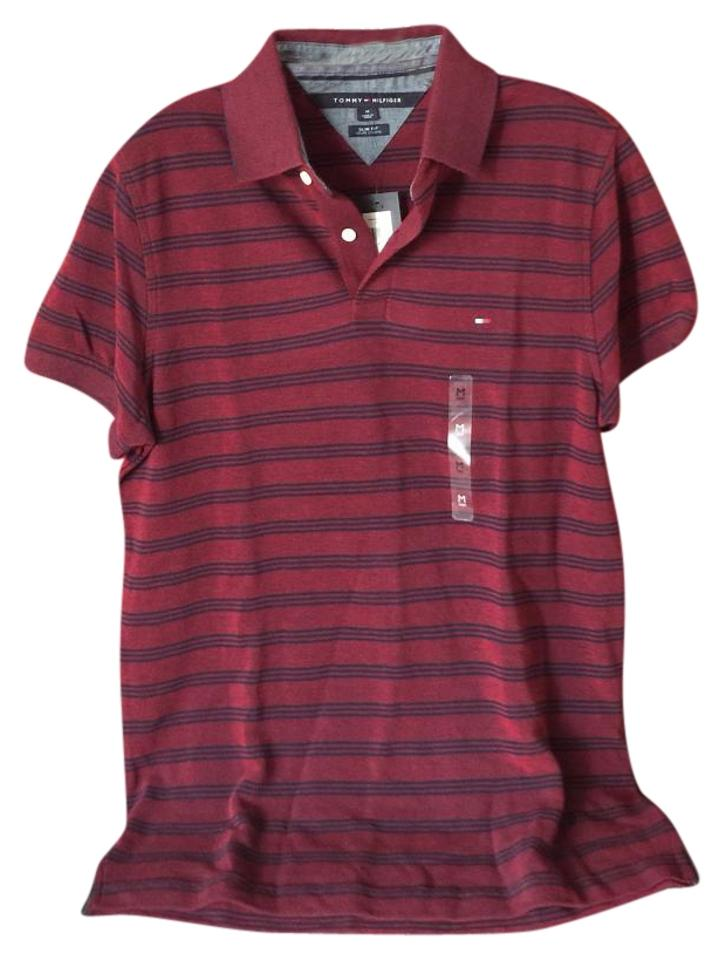 Tommy hilfiger t shirt 59 off retail for Tommy hilfiger shirt size chart