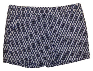 J.Crew Dress Shorts Blue, White
