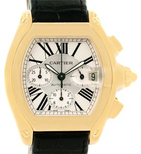 Cartier Cartier Roadster Chronograph XL 18K Yellow Gold Mens Watch W62021Y2