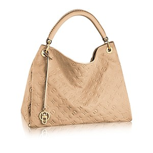 Louis Vuitton Leather Monogram Empreinte Shoulder Bag