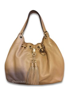 Michael Kors Leather Mk Designer Shoulder Bag