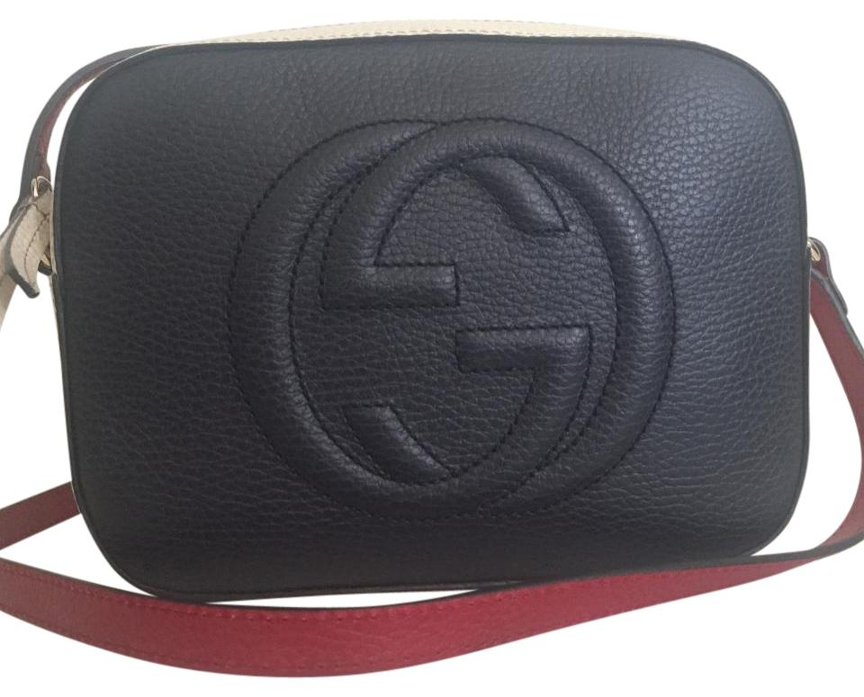 0cf261cbed7e Gucci Soho Reserved For Michelle Tricolor Disco Blue White Red ...