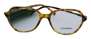 Chanel New Limited Multi-Color Yellow Chanel Eyeglasses 3338 c.1523 53